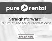 Pure rental Straightforward: Return at end for our lowest cost
