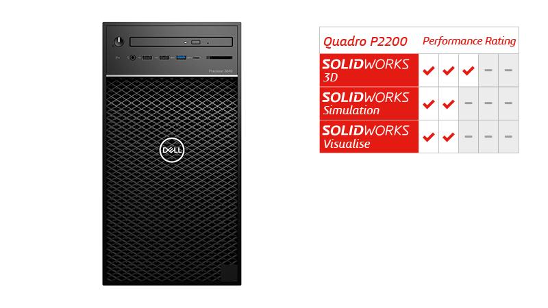 Quadro P2200 Dell Tower 3640