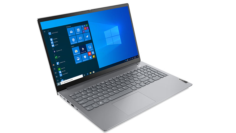 Lenovo ThinkBook 15 11th Gen front side view