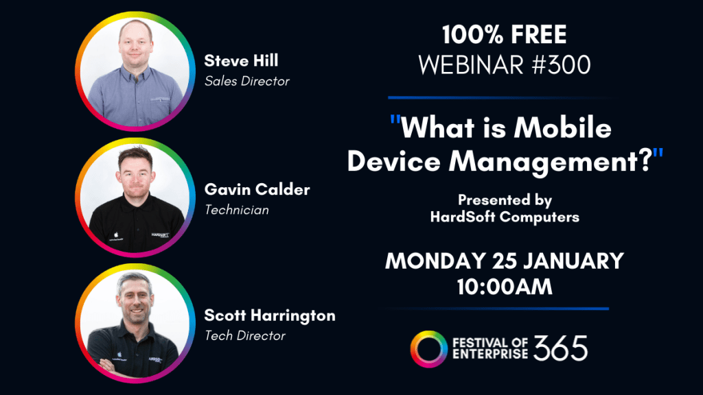 What is mobile device management? Webinar 25th Jan 10am