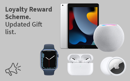 Loyalty Reward Scheme - Claim a gift by taking out a new lease for additional equipment