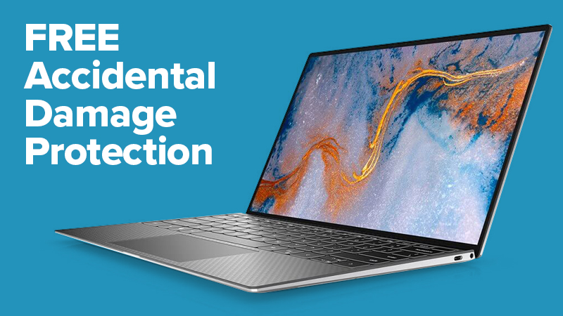 XPS 13 with FREE Accidenal Damage