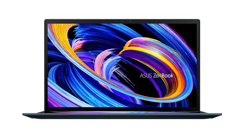 Asus ZenBook Duo 14 front view