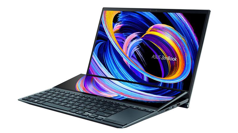 Asus ZenBook Duo 14 side gallery