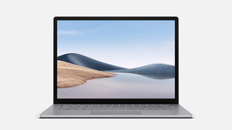 Surface Laptop 4 in Platinum