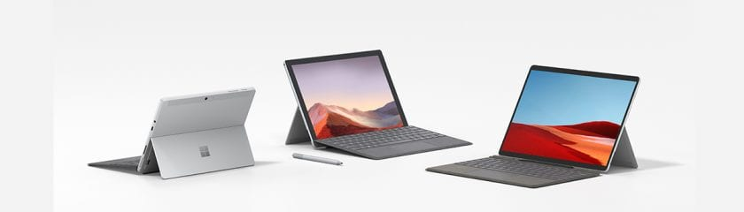 Microsoft Surface devices for autopilot