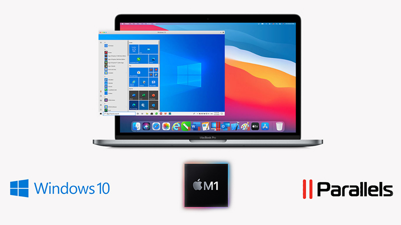 Windows on a Mac using Parallels