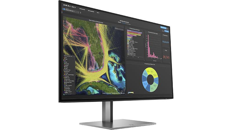 HP Z27K G3 4K USB-C Display side