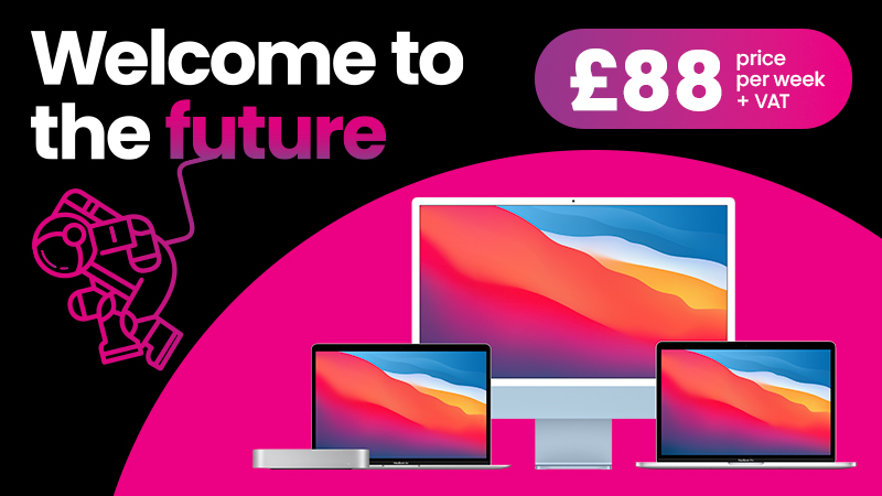 Welcome to the future - £88 price per week + VAT - Devices for teams offer