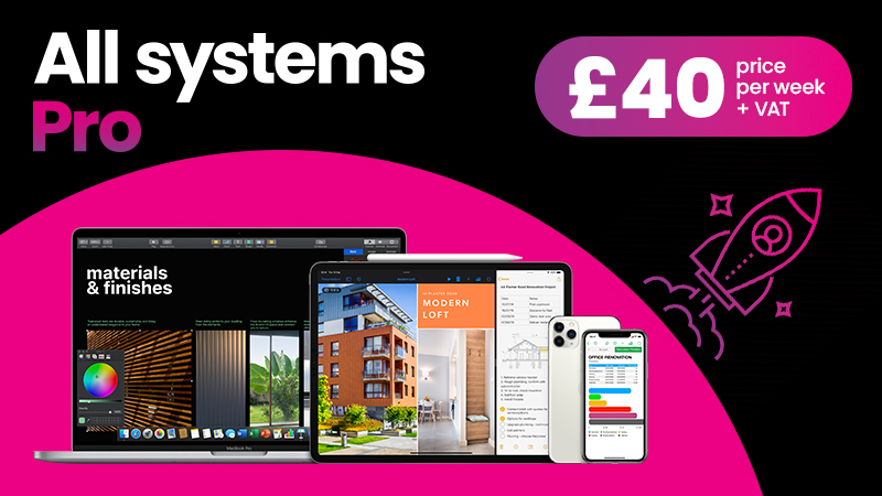 """All systems pro 3 x MacBook Pro 13"""", 2 x iPhone 12 Pro, 1 x iPad Pro 12"""" - All 6 Apple devices for £40 per week"""