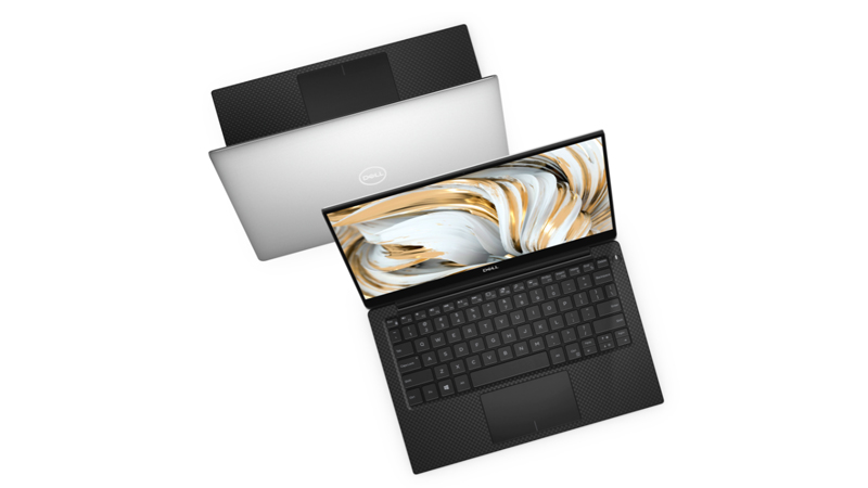 Dell xps 13 9300 back and front