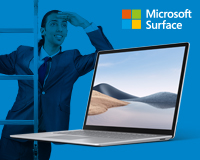 Step Up Surface Laptop 15