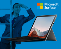 Step Up Surface Pro 7+
