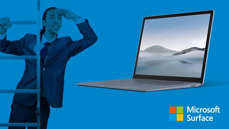Step Up Surface Laptop 13