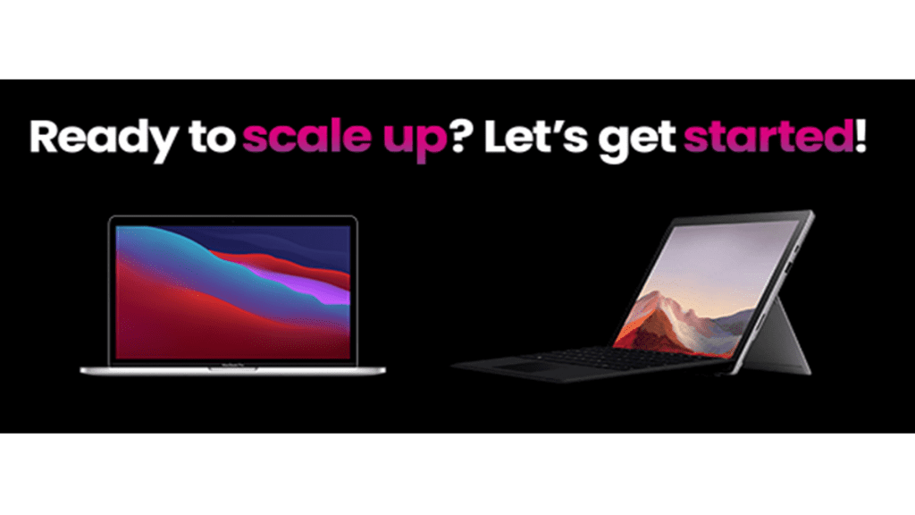 scaleup! lets get started
