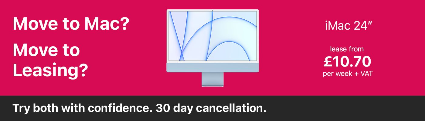 Move to Apple Mac. Try with confidence, 30 day money back guarantee