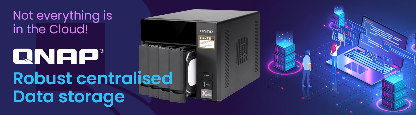 QNAP NAS storage for business