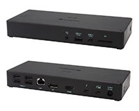 i-Tec USB-C 4K Docking station front and back view