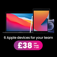 6 apple devices for £38 a week
