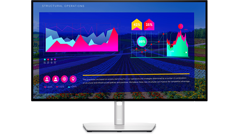 "Dell 27"" UltraSharp Display - U2722D front view"