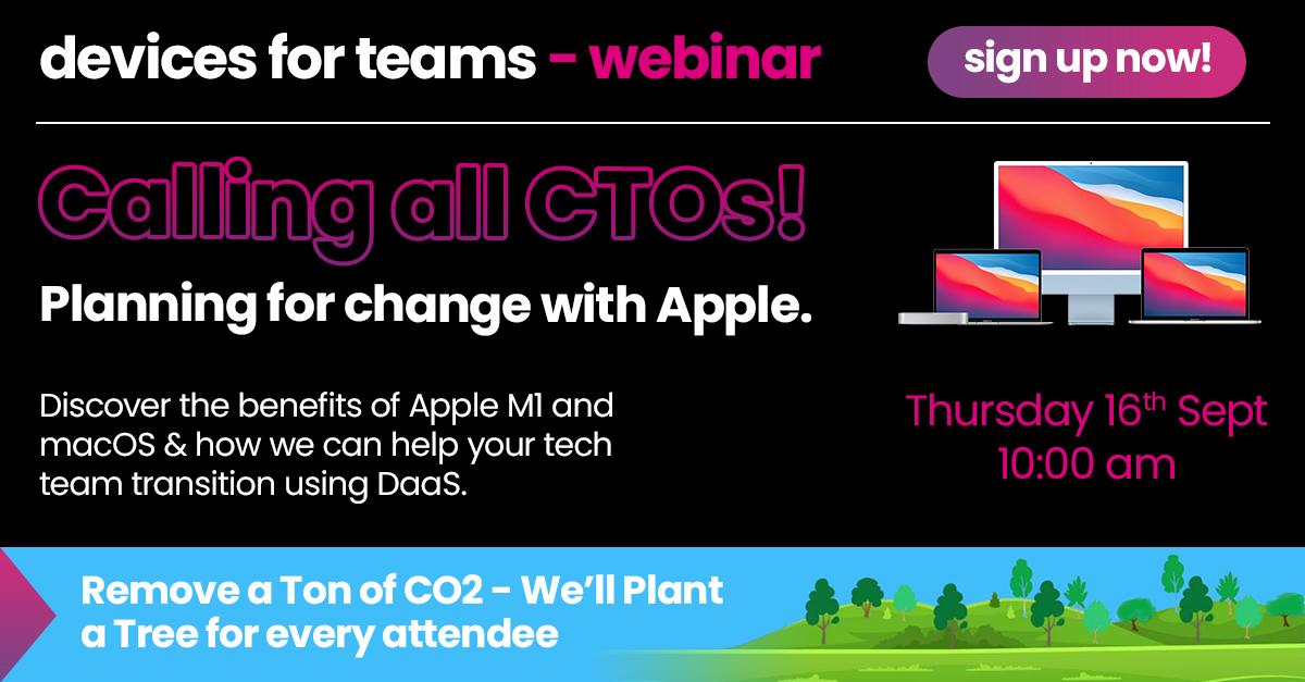 Apple DaaS Webinar