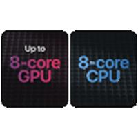 8 Core GPU and 8 core cpu