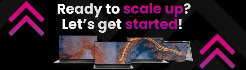 scaleup startup dell xps