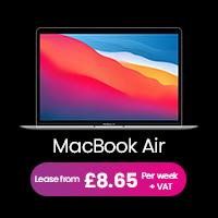 MacBook Air lease deal