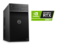 Dell Precision 3650 Tower with NVIDIA GeForce RTX 3060Ti Graphics