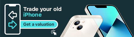 Trade your old iPhone - Get a valuation