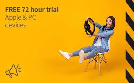 Free 72 hour trial